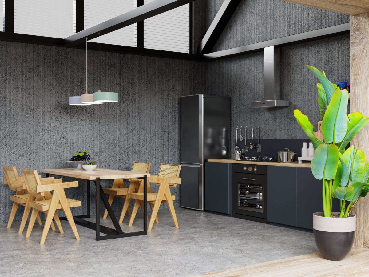 interior-of-spacious-kitchen-with-concrete-wall-3d-rendering-min (1)